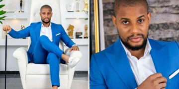 """""""What sort of cuteness is this?"""" -Ladies reacts to Alexx Ekubo's dazzling 34th birthday photos"""