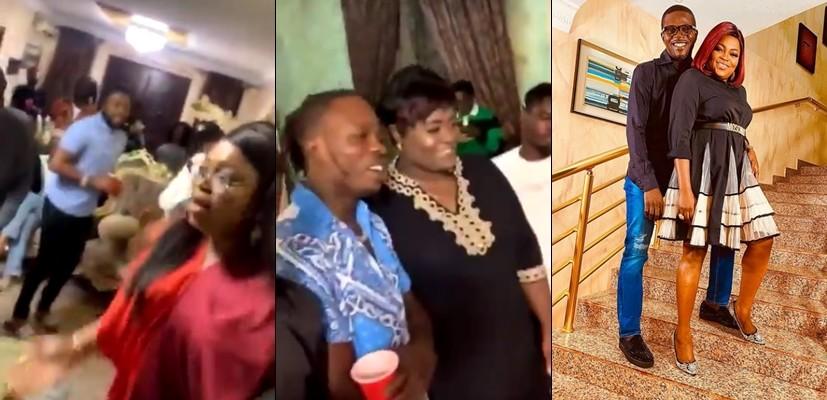 Funke Akindele's house party: