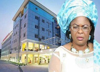First Lady, Patience Jonathan Donates Her N2BN Hotel For Isolation Of Coronavirus Victims
