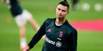 Cristiano Ronaldo defies COVID-19 lockdown rule, spotted playing football in a stadium
