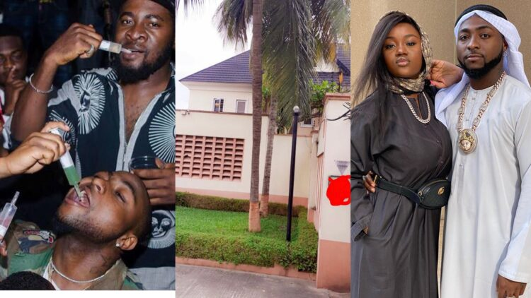 Davido buys a mansion for his crew members