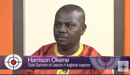 How a Nigerian sailor, Harrison Okene miraculously survived underwater for 3days in sunken ship (Video)