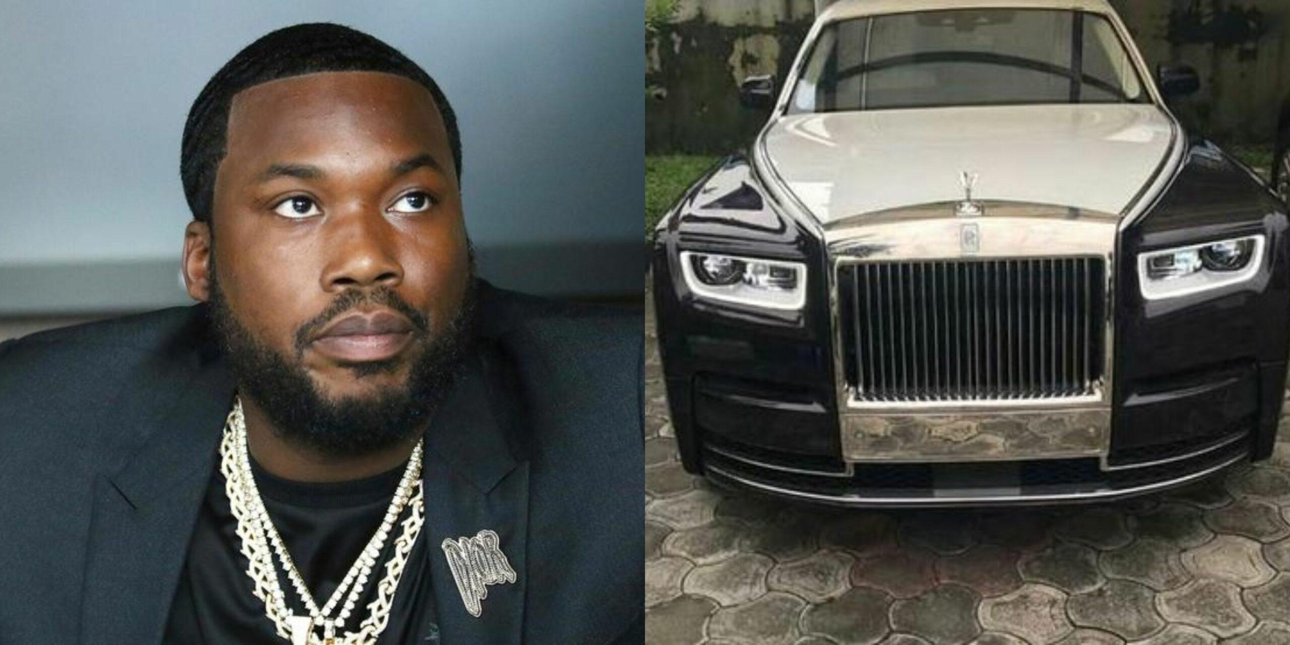 Meek Mill donates his prized Rolls Royce Phantom for COVID-19 fundraiser