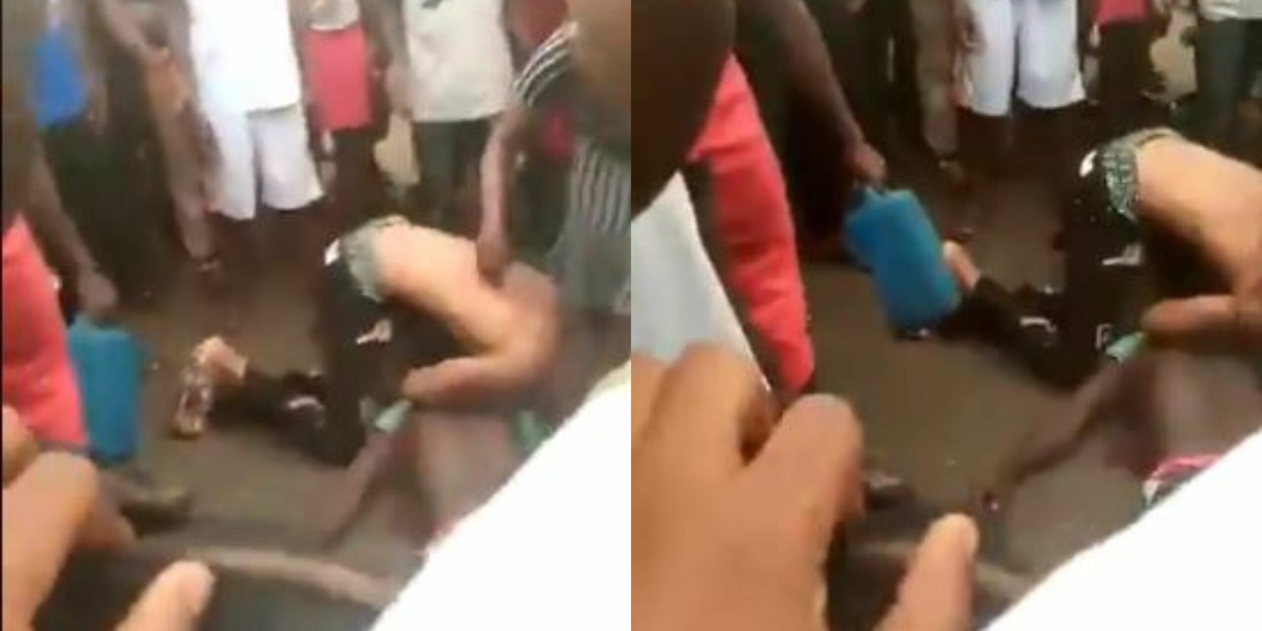 Police officers abscond after killing young man in Anambra -Watch his mom cry over his lifeless body (Graphic Video)