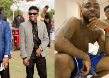 See what lock-down is making Davido and Mayorkun do at home |Video