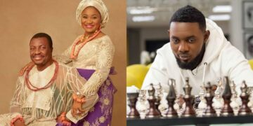 """""""You and your wife housed me when I was your PA"""" -AY celebrates Ali Baba and wife on their wedding anniversary"""