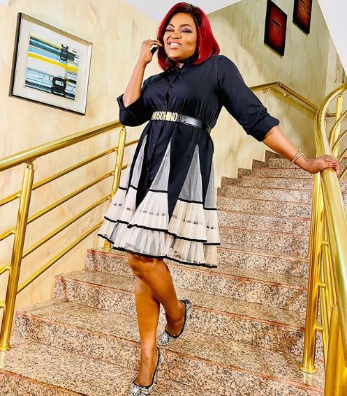 Naira Marley, Falz, Chioma Apotha and other Nigerian celebrities react as Funke Akindele returns to Social Media after NCDC saga