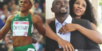 Blessing Okagbare's Husband confirms marriage crash