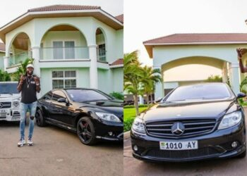 Emmanuel Adebayor flaunts his classy million dollar mansion and wardrobe on social media