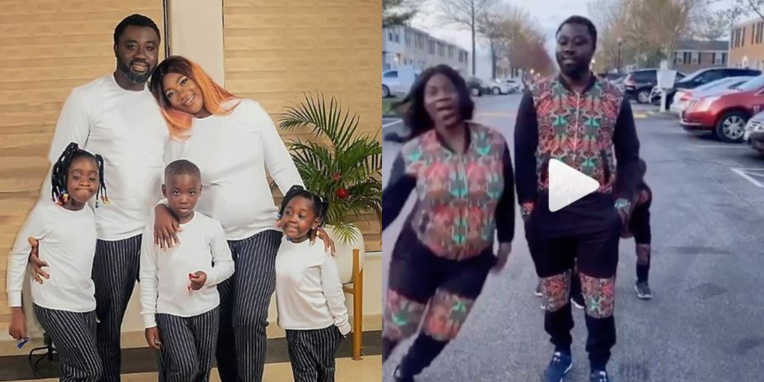 Mercy Johnson and her kids show off their dancing skills in new family choreography (Video)