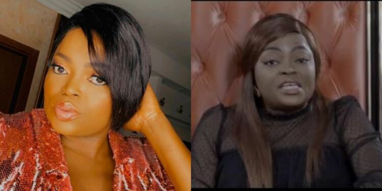 Covid is real, please practice social distancing -Funke Akindele in total contrition as she speaks for the first time since NCDC saga (Video)