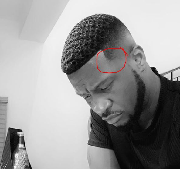 So men now wear wig and show off -Is Peter Okoye not overdoing it