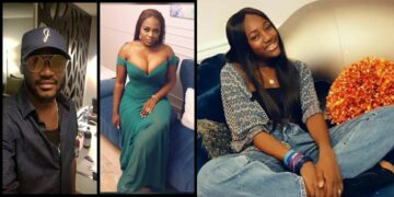 2face Idibia and baby mama, Pero celebrate their daughter, Ehi Idibia as she turns 14 (Photos)
