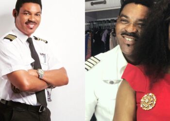 'You are one of the best Pilots Africa has produced' – Omotola Jalade celebrates husband on World Pilots' Day