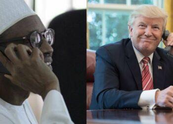 COVID-19_ Trump speaks with Buhari on telephone, promises ventilators