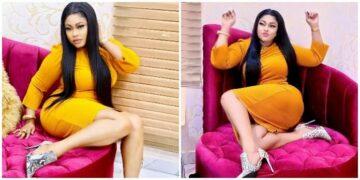 Lockdown has put me in trouble, I think I'm pregnant - Actress, actress, Biodun Okeowo reveals (Photos)