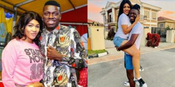 Comedian, Akpororo celebrates his wife as she turns a year older today (Photos)