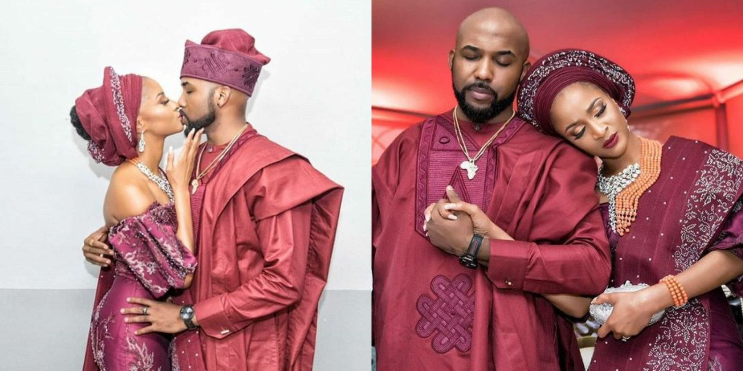 Adesua Etomi and Banky W celebrate each other with beautiful words as they celebrate 3rd anniversary