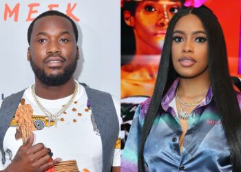 Meek Mill and Milan Harris Welcome Baby Boy
