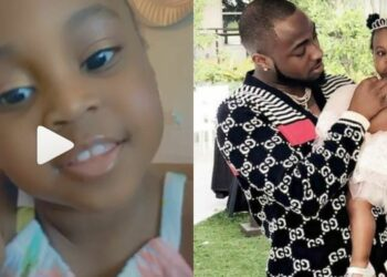 Davido gushes over his second daughter, Hailey Adeleke as she turns 3 today (Video)