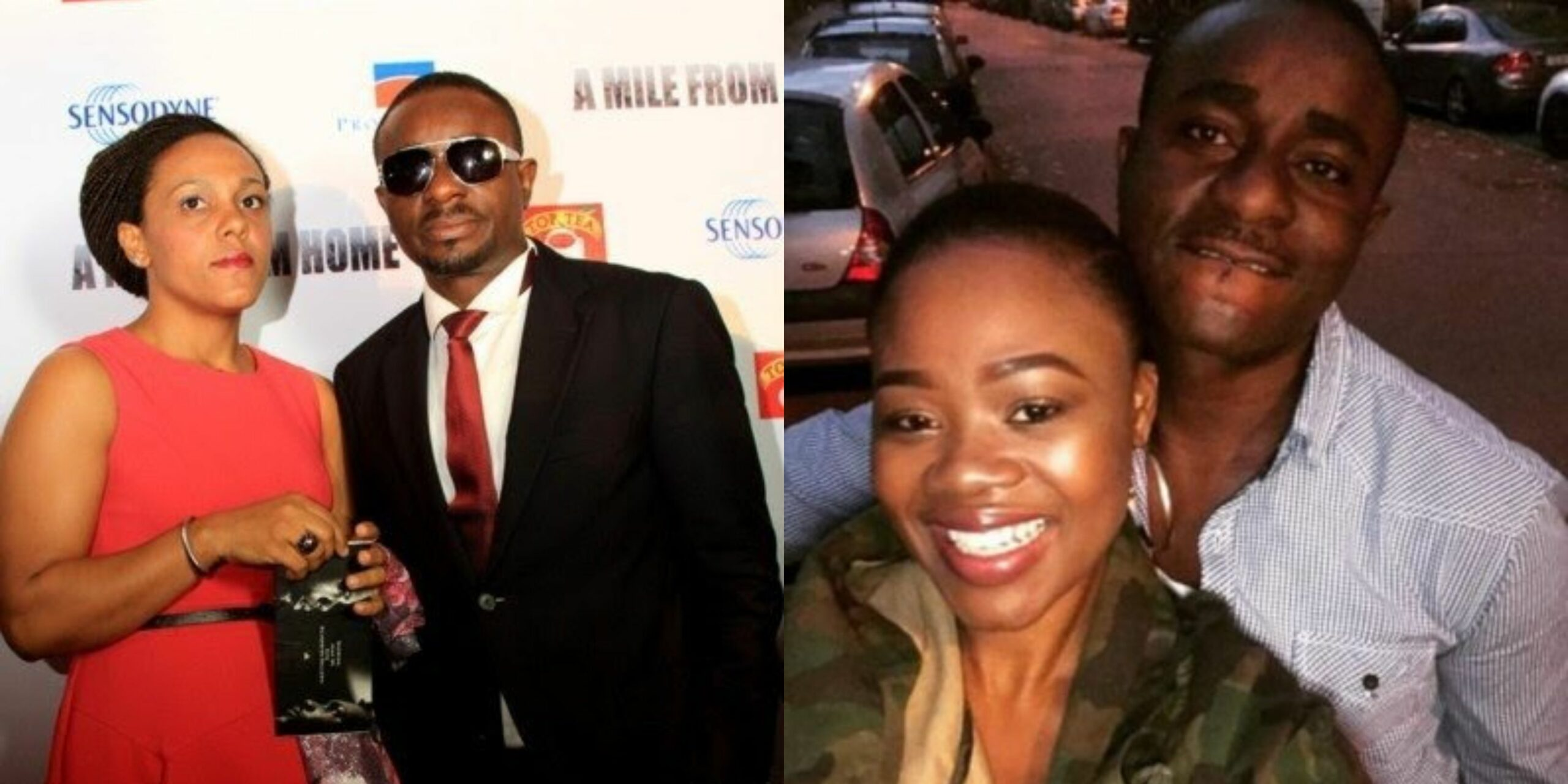 Emeka Ike fires back at follower who said his ex-wife 'Fits him more' than his new wife