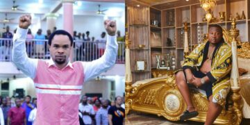Cubana Chief Priest calls Odumeje his prophet & gush about how much he loves him (Video)