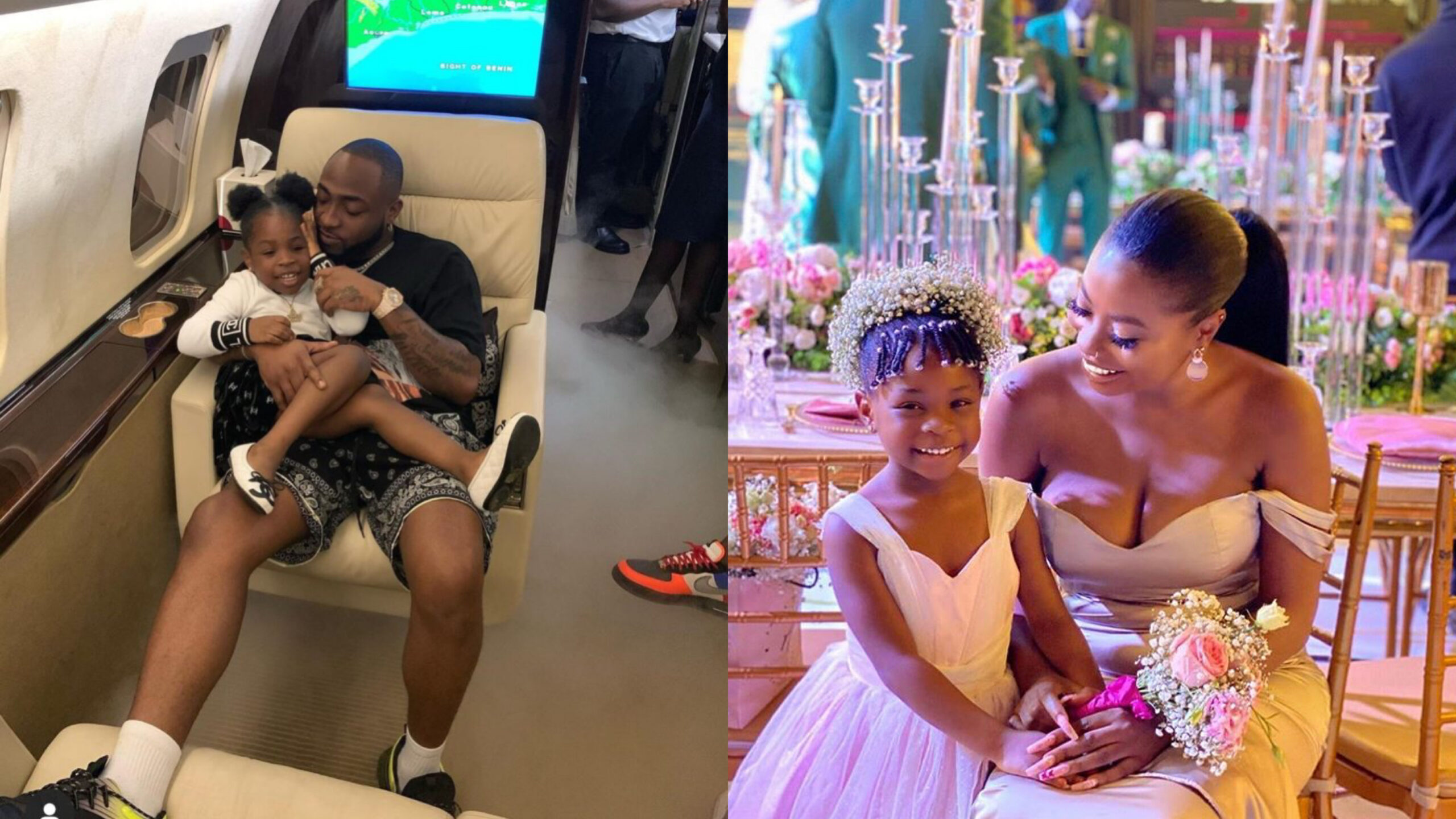 My baby is turning 5 tomorrow, it seems just like yesterday -Davido celebrates daughter, Imade ahead of her birthday