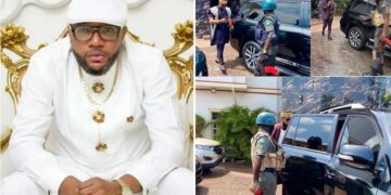 E-Money leaves police custody after six-hour interrogation