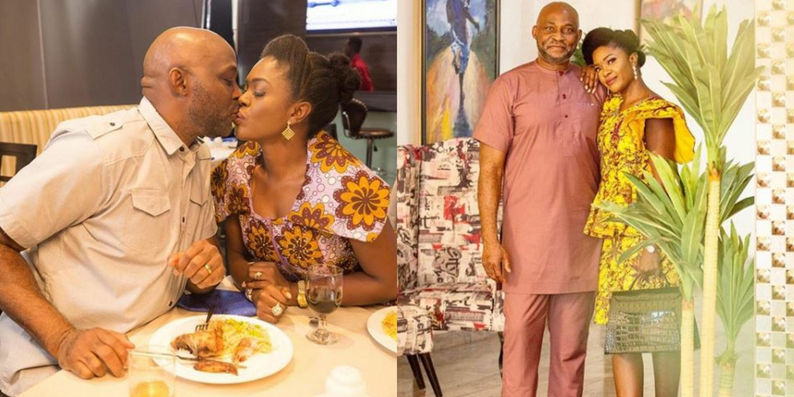 Is your hsuband not complaining? -Omoni Oboli sparks outrage on Instagram again as she shares more loved up photos with RMD