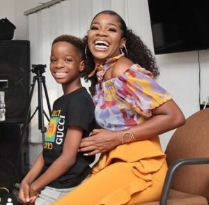 Wizkid's second son, Ayo sends a cute message to his elder brother, Boluwatife as he turns 9