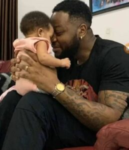 Cute picture of TeddyA and Bambam's daughter, Zendaya surfaces on the internet