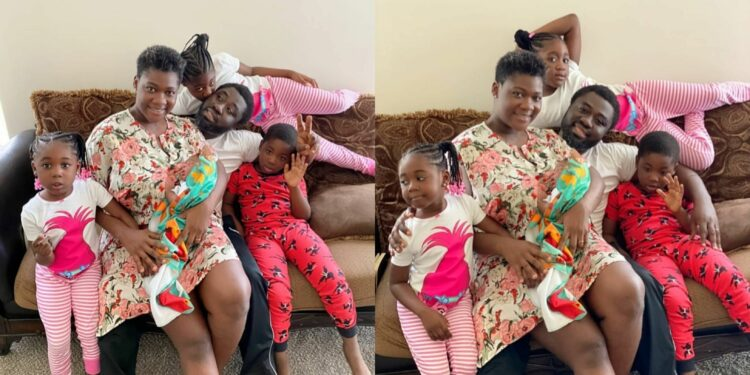 Mercy Johnson shares lovely family photos as her husband turns a year older