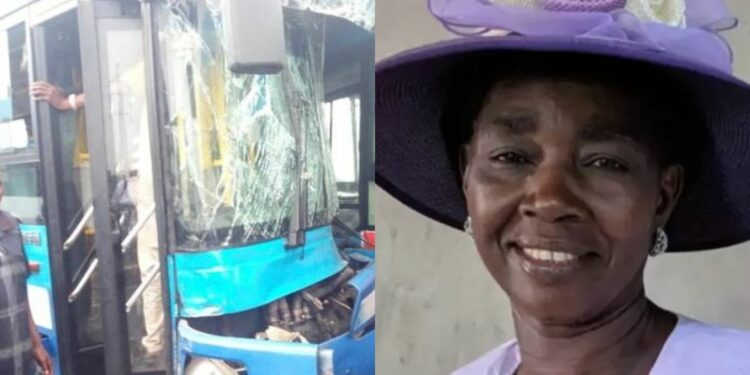 BRT bus driver on the run after killing Globacom's PR head's wife
