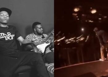 Check out an 8-year-old rare video of Wizkid performing a song he never released, in London