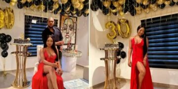 Mocheddah throws husband a surprise 30th birthday party (photos)