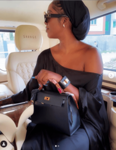 Tiwa Savage celebrates Eid with fans in alluring photos