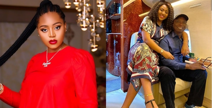 """""""If you abort that baby, I will pray for God to take your life"""" – Man alleges Regina Daniels plans to not have kids for husband"""