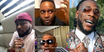 Dont be entitled, Davido works hard despite his father's money - Naeto C goes hard on Burna (Video)