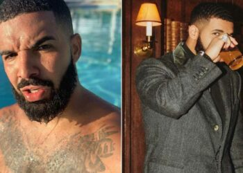 Drake flaunts his massive backyard pool he is using for the first time & it's more like a lake (VIDEO)