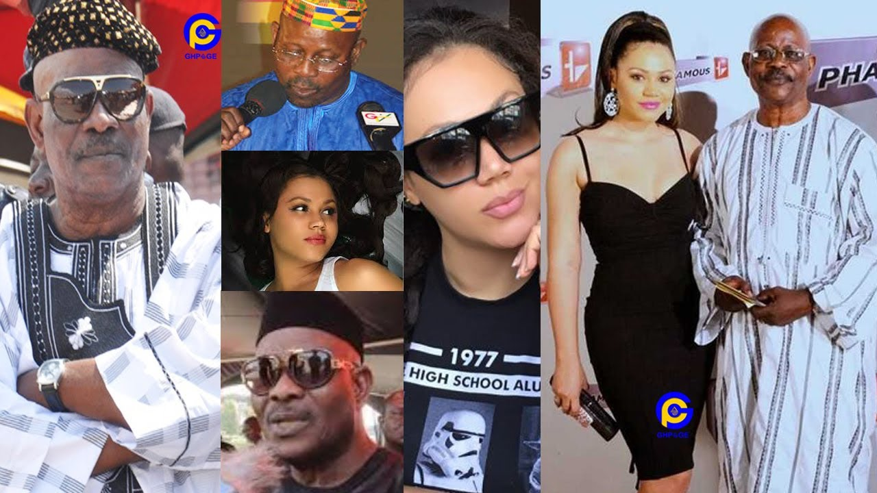 Nadia Buari is my biological daughter – Actress's father, Alh. Sidiki Buari debunks rumours of her being adopted (photos)