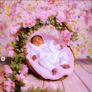 Mercy Johnson shares lovely new photos of her baby, Divine-Mercy