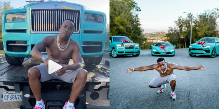 Rapper, Yo Gotti spends $1.3m on Rolls-Royce, Lamborghini, Ferrari, and Richard Mille watch to celebrates his 39th birthday (Photos)