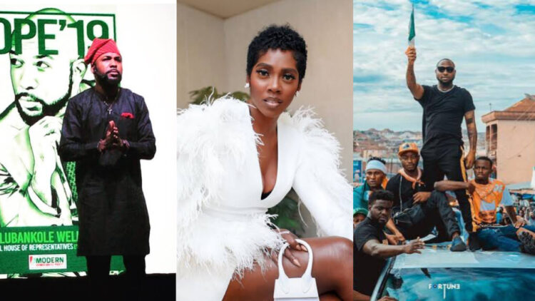 Nigerian music stars set to lead protests against bad governance in the country next week (details)