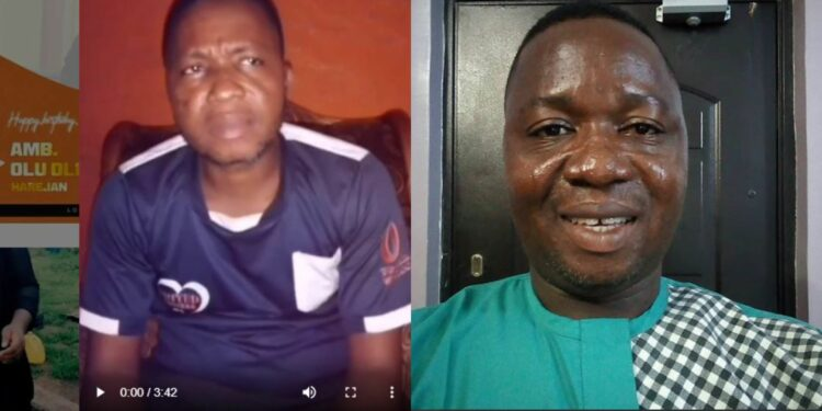 """""""Nigerians come to my rescue, I have nothing"""" -Mr Portable cries out as he reveals how he was duped by his friend (Video)"""