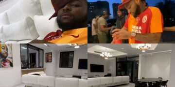 Davido completes finishing touches, moves into his Banana Island home (Photos)
