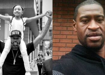 George Floyd's daughter, 6, shouts 'daddy changed the world' in heartwarming video