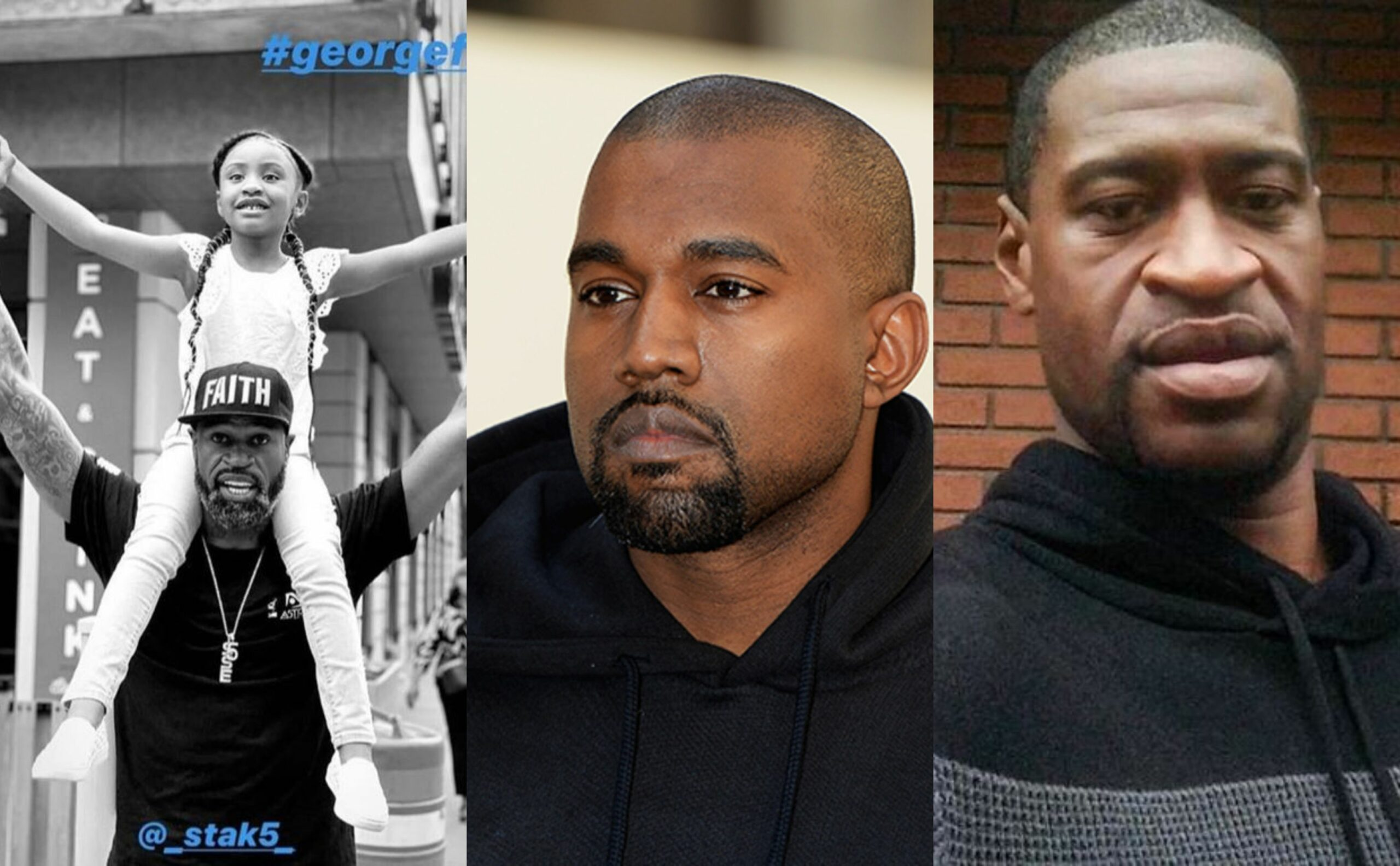 Kanye West donates $2million, sets up education trust fund for George Floyd's 6-year-old daughter