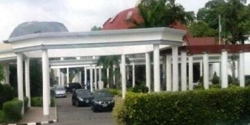 Fire guts part of Presidential Villa