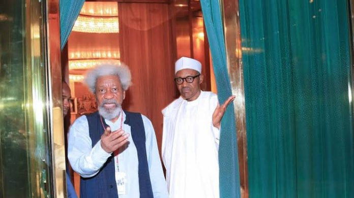 I don't believe President Buhari is in charge – Soyinka (video)