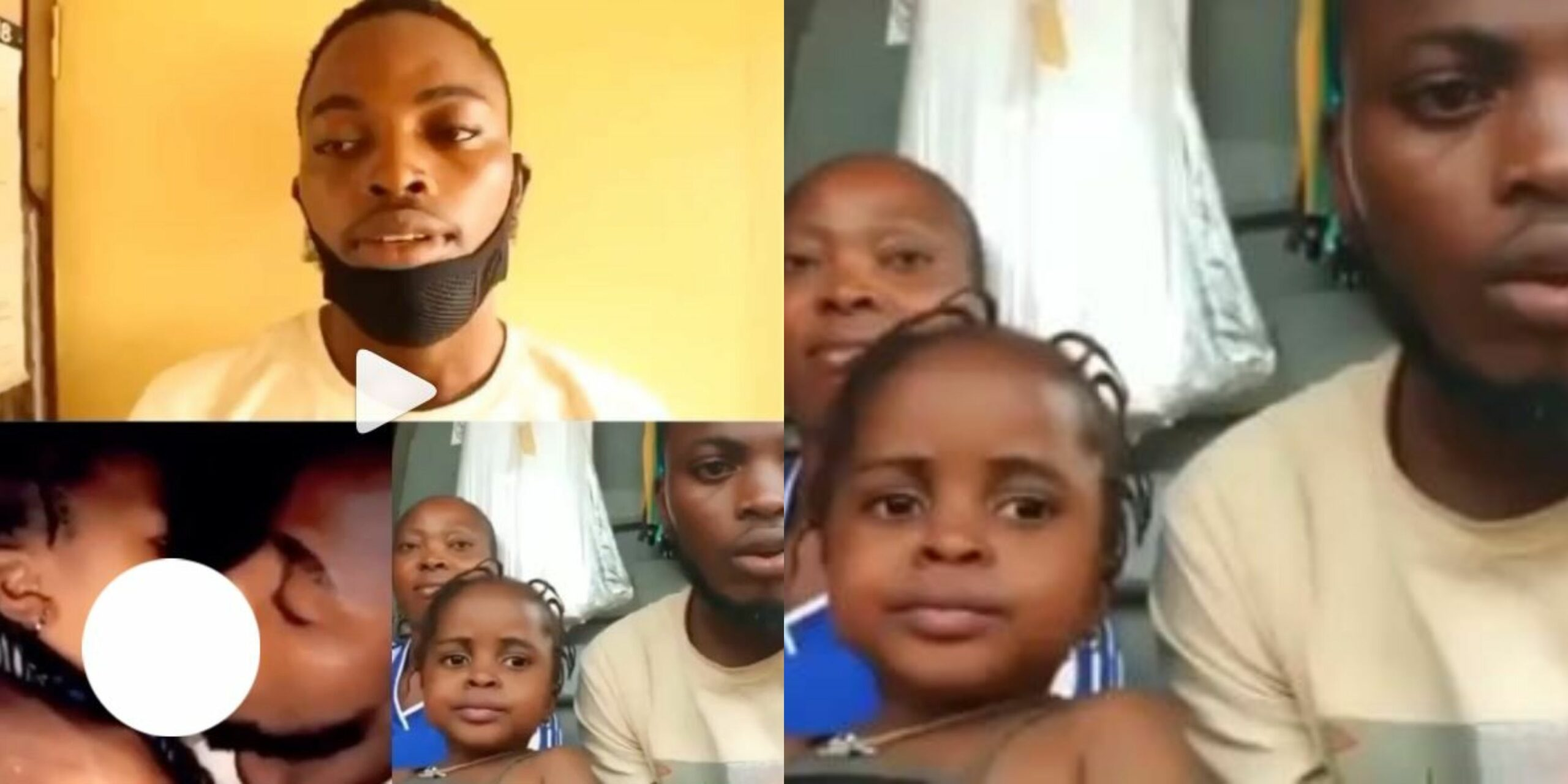 Update: Man who kissed little girl in viral video has been arrested, handed over to State CID, Yaba for prosecution (Video)